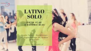 Latino Solo – BEZPŁATNE zajęcia otwarte