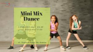 MIX DANCE zajęcia taneczne dla dzieci 4 – 6 lat