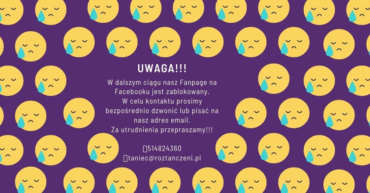 UWAGA – Nasz Facebook Chwilowo Nie Działa!!!
