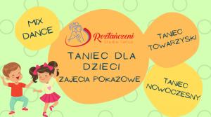 UWAGA!!! ZAPISY na Bezpłatne Zajęcia Pokazowe dla Dzieci – Start od 20.09 – ZAPRASZAMY :D